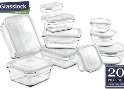 Glass food storage containers that keep vegetables fresh