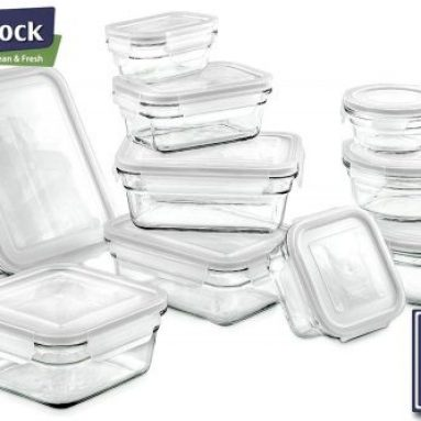 BIO BIFL Glass food storage containers that work for life